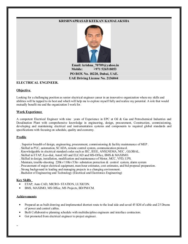 PROJECT ENGINEER- ELECTRICAL._L