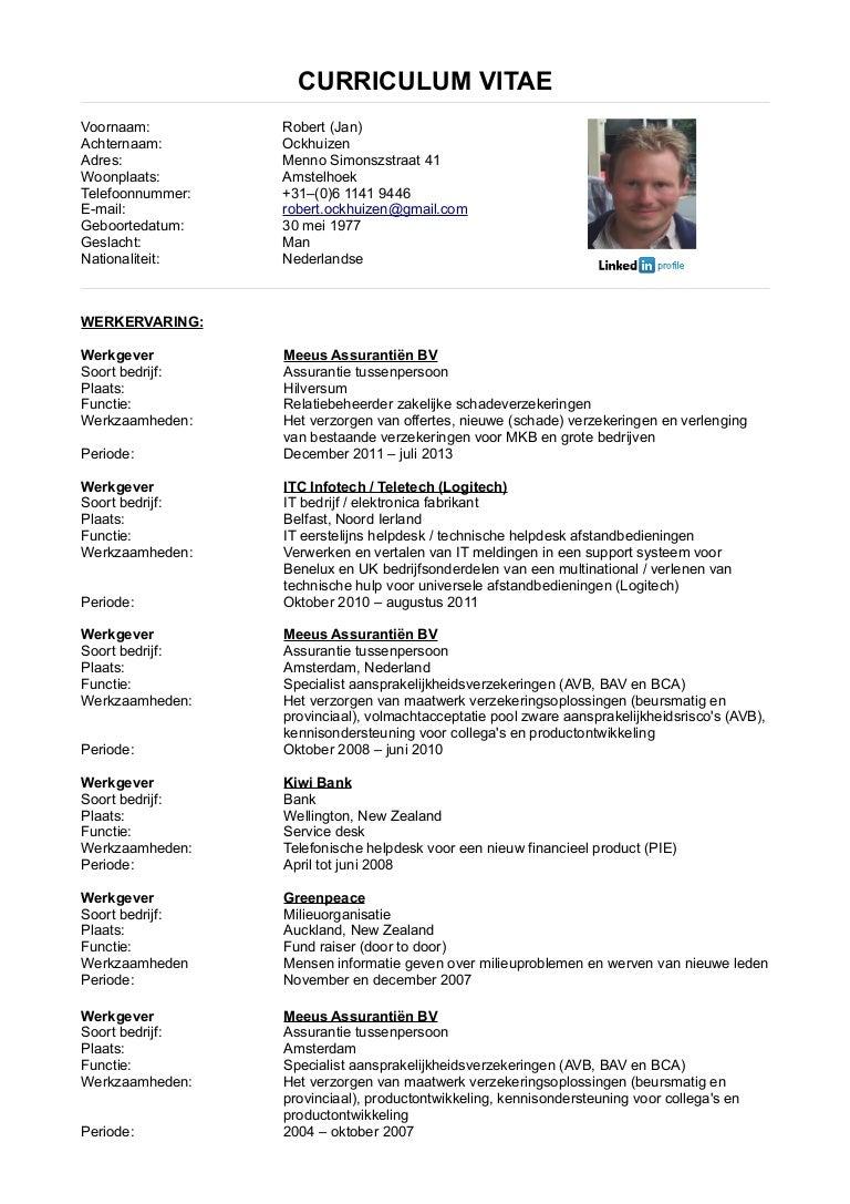 CV 2014 (Nederlands)