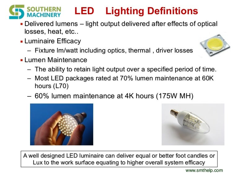 sc 1 st  SlideShare & 4 benefits for led lighting