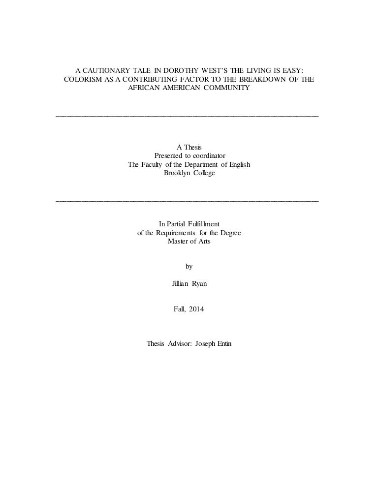 ethnically blocked mobility thesis A just-published article takes a look at what happened to equality and social mobility in the united states when a  a solution for inequality and blocked mobility.