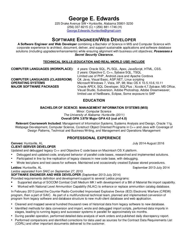 Resume automotive service manager