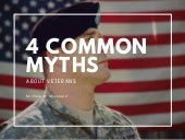 4 Common Myths About Veterans | Michael G. Sheppard