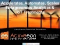 ActiveEon's OW2 ProActive accelerates, automates and scales Metagenomics analytics as well as IoT treatments, OW2con'16, Paris.
