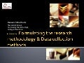 4 formulating the research design2