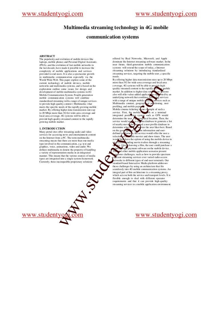 Research paper organizational communication