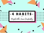 4 Habits of People Who Learn Constantly