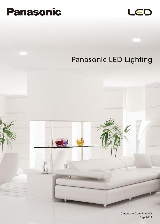 sc 1 st  SlideShare & Panasonic Catalogue u0026 Pricelist of LED Luminaires azcodes.com