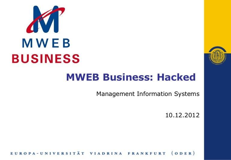 case study mweb business hacked