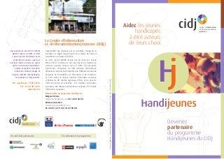 Le programme Handijeunes du CIDJ