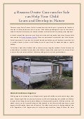 Creative Ideas For Onsite Caravans For Sale Can Help Your