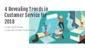 4 Revealing Trends in Customer Service 2018