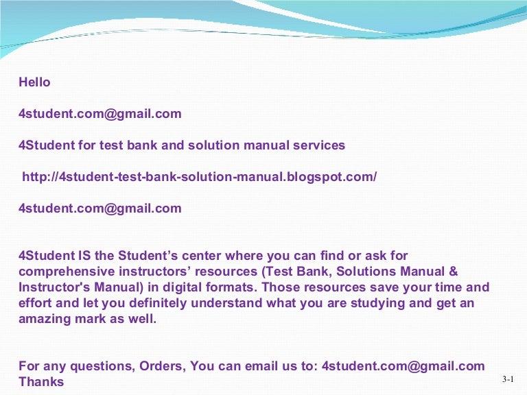 4 student for test bank and solution manual email 4student com deliv rh slideshare net  Blog Sites