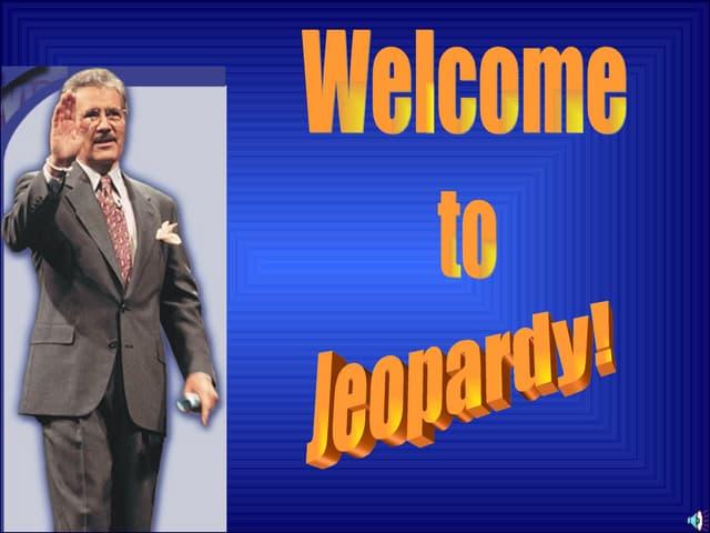 4th Jeopardy