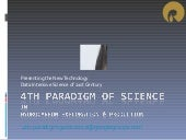 4th paradigm geo science iitb talk march2011
