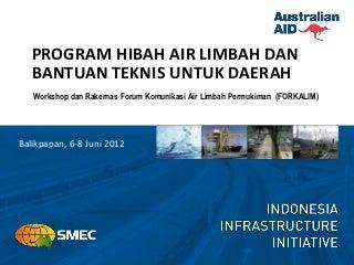 Program Hibah Air Limbah dan Bantuan Teknis untuk Daerah (AusAID)