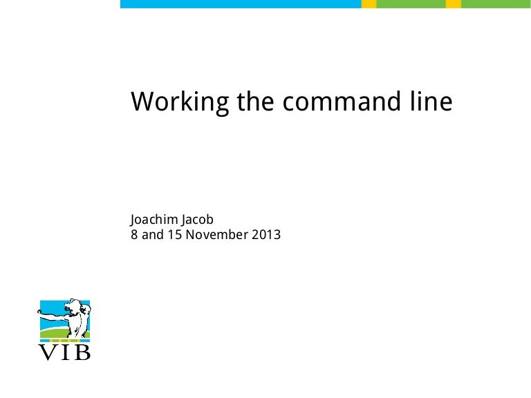 Text mining on the command line - Introduction to linux for bioinform…