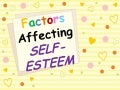 factors affecting self-esteem