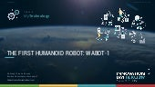 The first humanoid robot, wabot 1 (by Robrecht Van Velthoven)