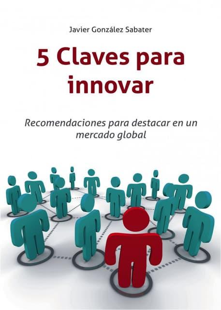 """Libro: """"5 Claves para Innovar"""""""