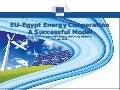 EU-Egypt Energy Cooperation: A successful model