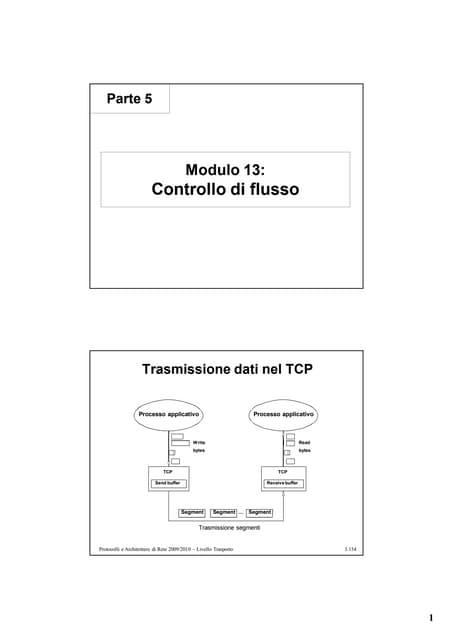 5 Protocolli Trasporto Parte3