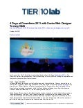 4 Days at Dreamforce 2011 with Senior Web Designer Tommy Welti