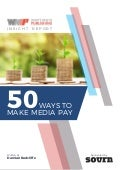 50 Ways to Make Media Pay