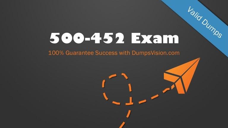 Cisco Enterprise Networks Core and WAN Exam Test 500-452 Exam QA PDF+Simulator