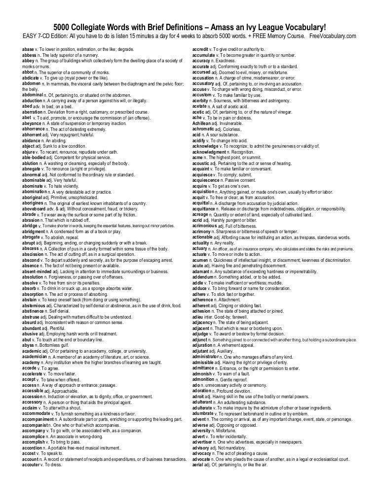 English Tutor: Bombastic Words and Phrases