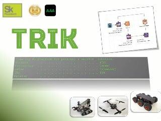 TRIK robotics