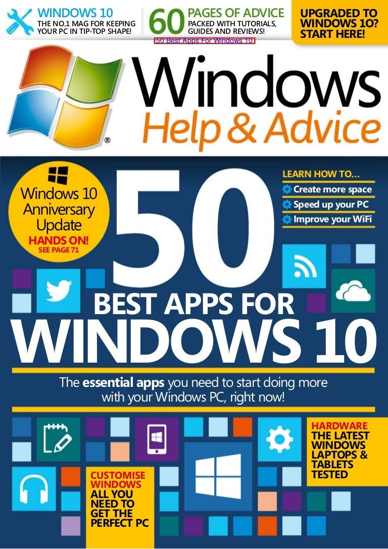 50 best apps for windows 10