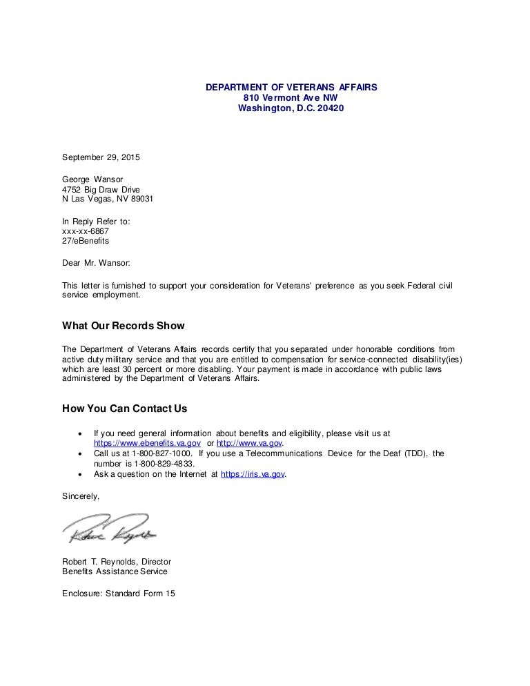 VA Compensation Disability Letter (1)