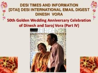 50th golden wedding anniversary #4 nirav