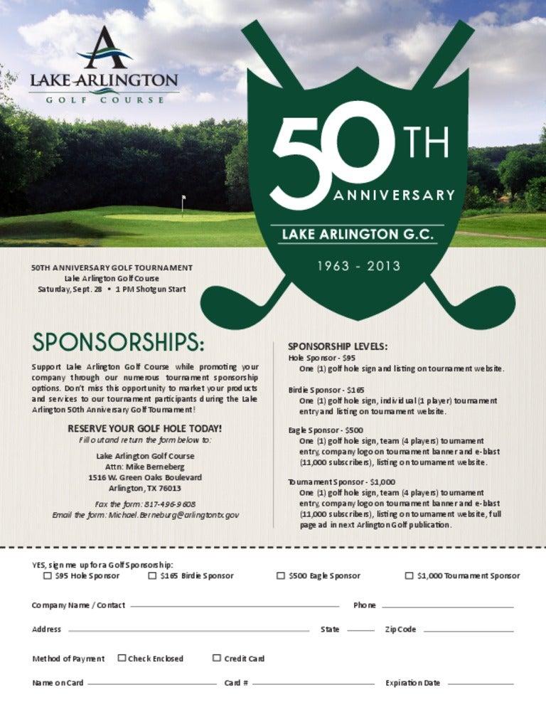 lagc 50th anniversary golf tournament sponsor form