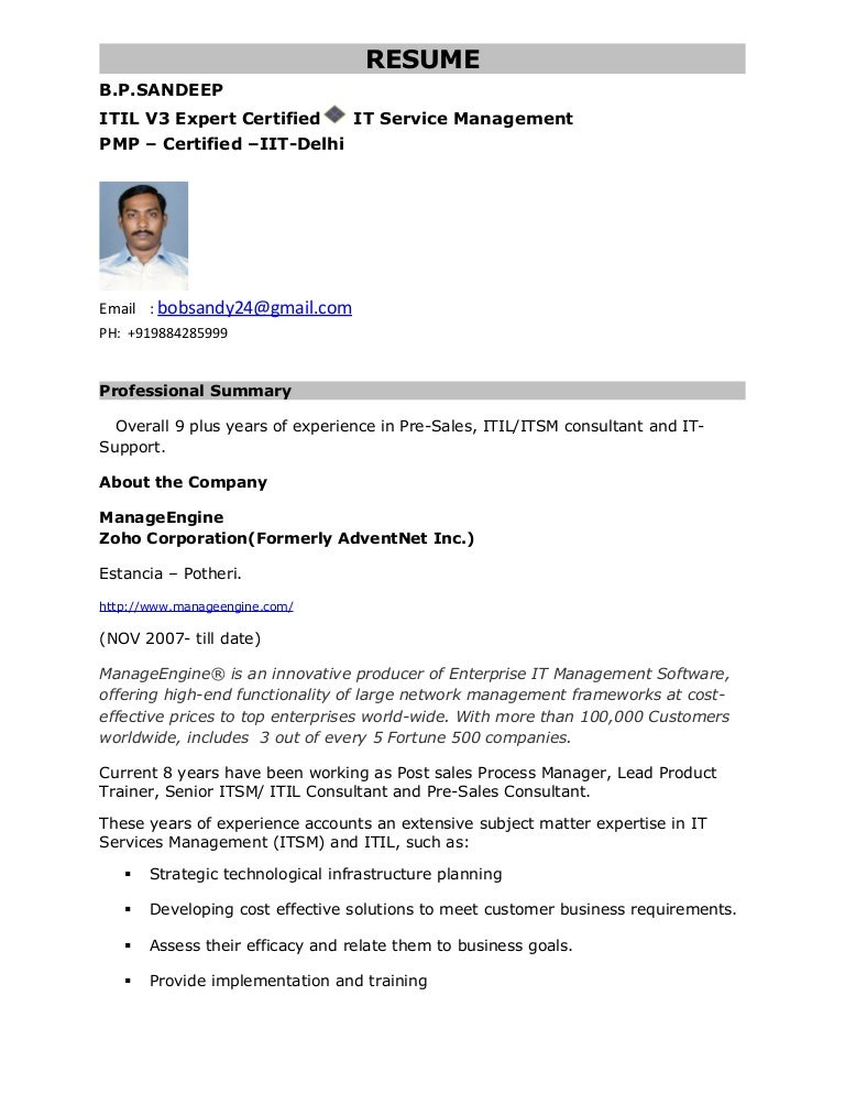 Itil consultant resume sample cover letter for general counsel position