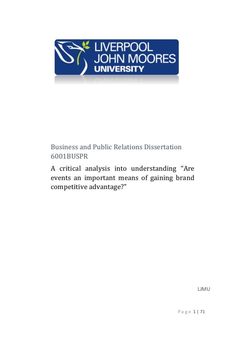 Ad analysis essay