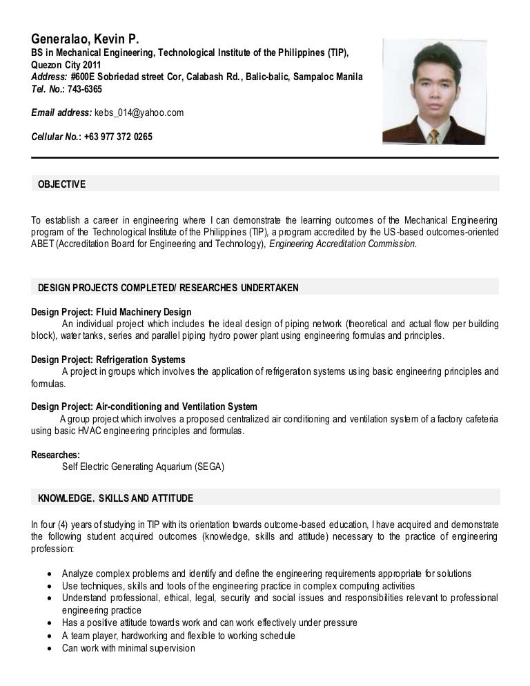 resume sample resume for ojt computer engineering students sample resume for ojt computer engineering students dalarcon