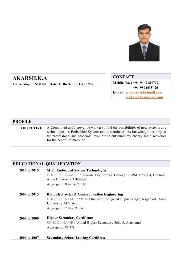 Akarsh k a resume aiddatafo Gallery