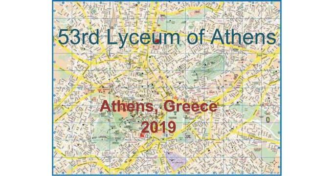 53rd Lyceum presentation 11 2019