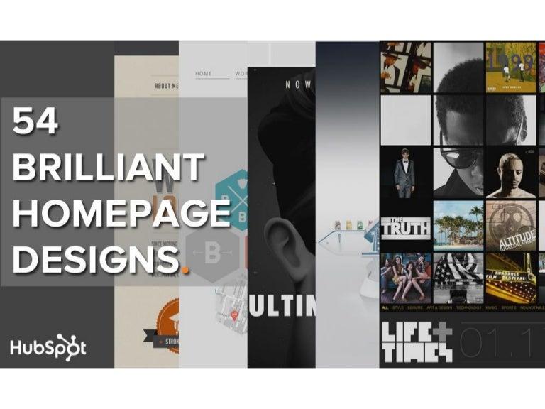 Homepage Designer exles of brilliant homepage design