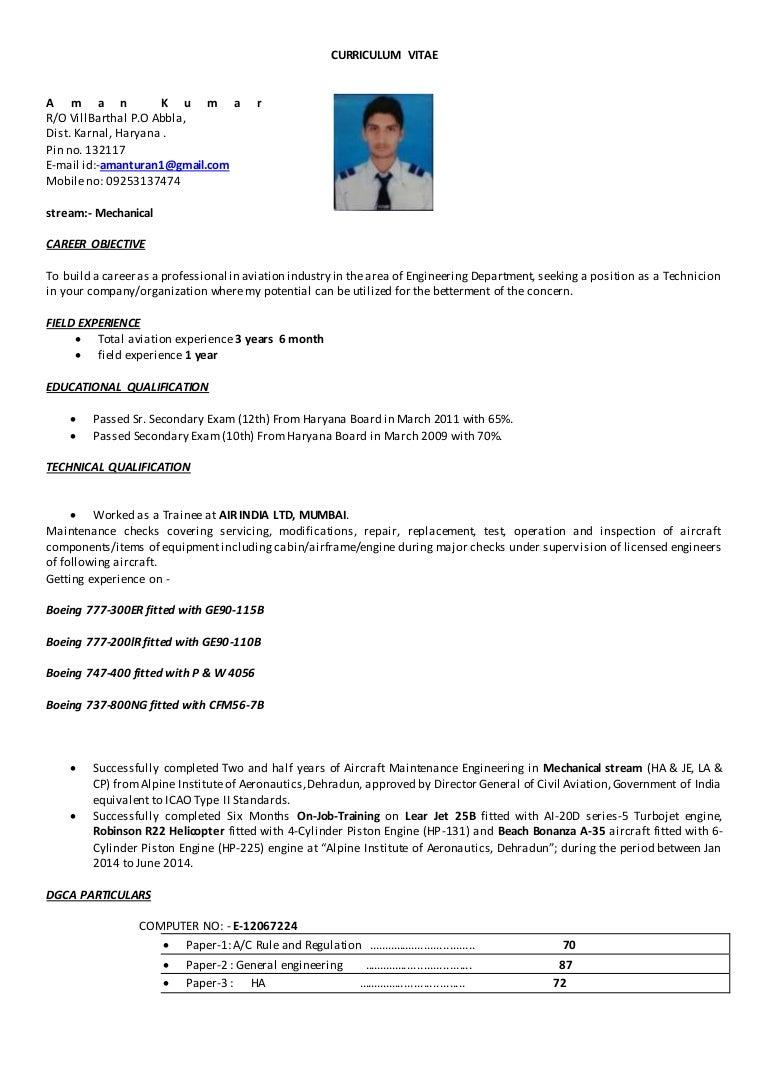 Atractivo Boeing Curriculum Vitae Modelo - Ejemplo De Colección De ...