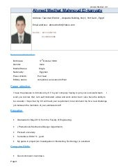 resume for production engineer