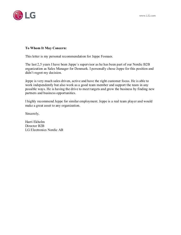 Recommendation letter lg spiritdancerdesigns Gallery