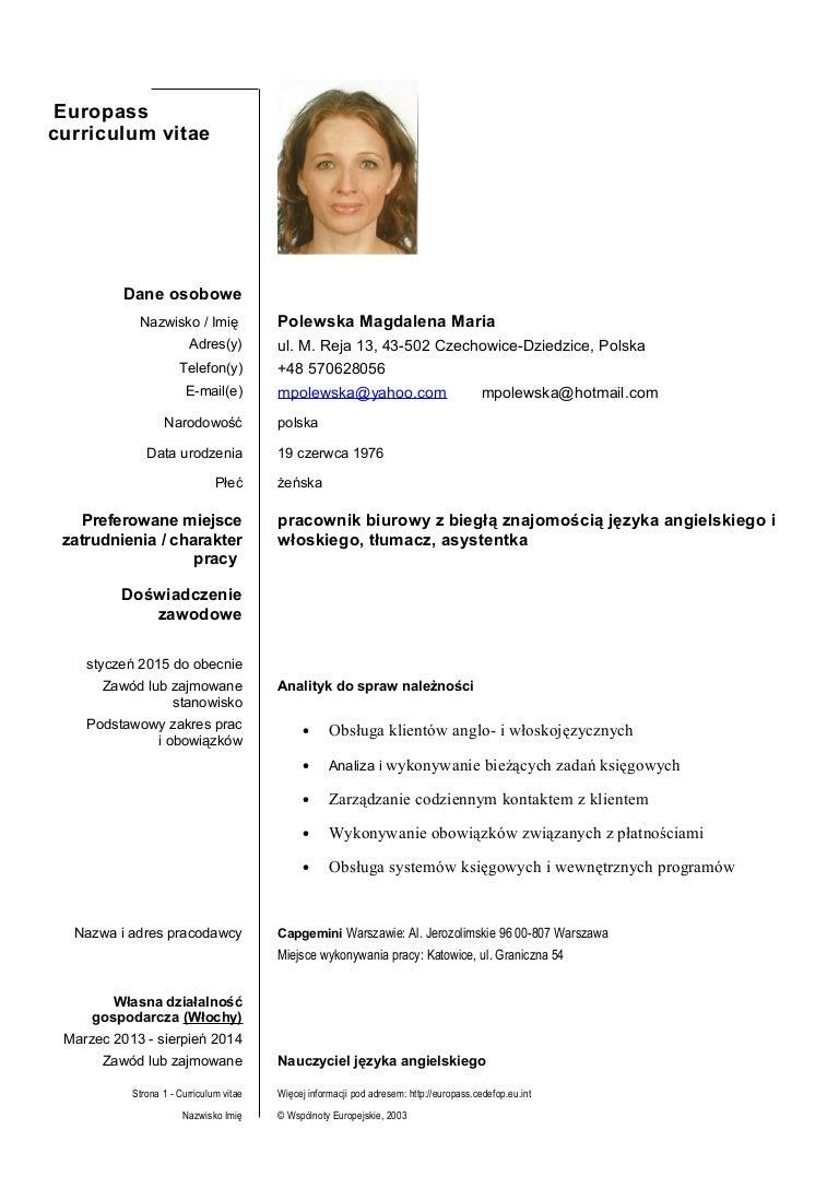 magdalena polewska cv pl