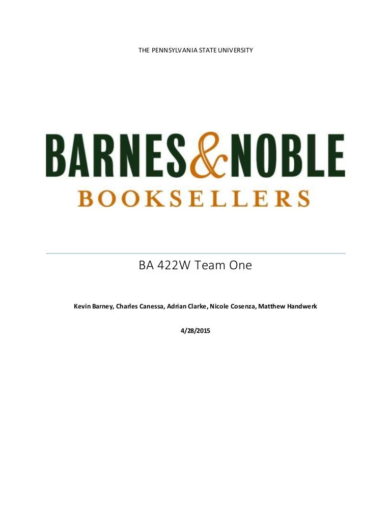 strategic plan analysis barnes noble Executive management team internal audit, tax, financial planning, analysis and investor barnes & noble education and chief marketing.
