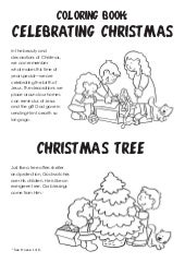 Coloring Book: Celebrating Christmas