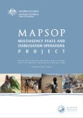 MAPSOP Report of the International Case-Study Roundtable on Strategic Lessons from Stabilisation in Afghanistan, Haiti and Solomon Islands