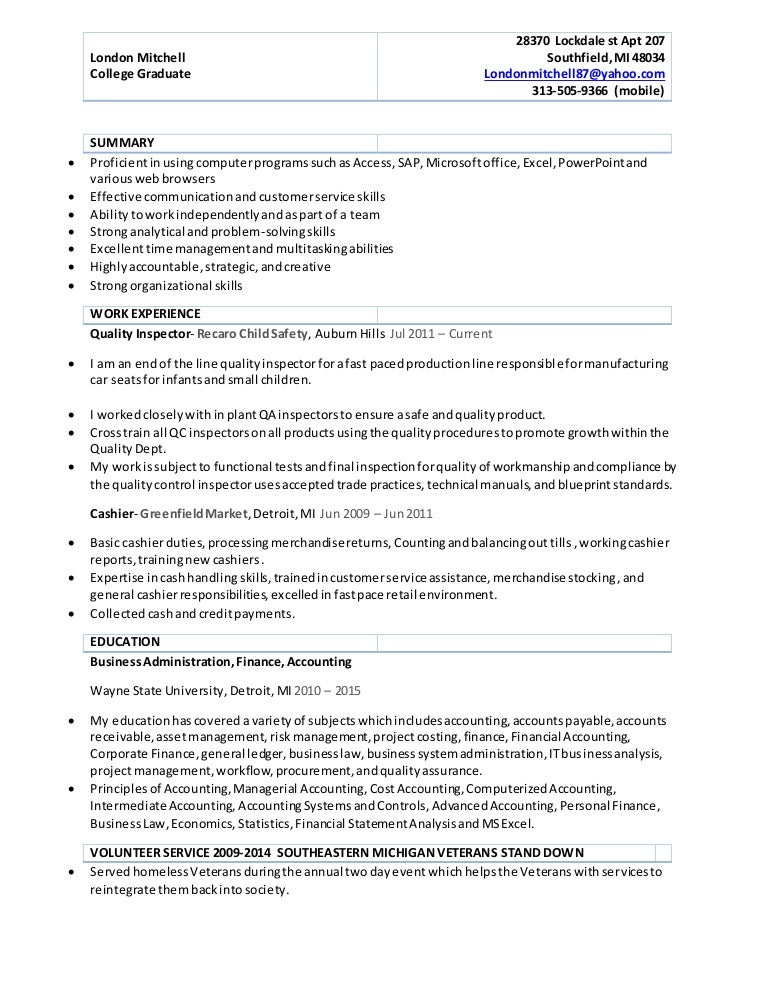 Fine Volunteer Accounting Resume In London Sketch - FORTSETZUNG ...