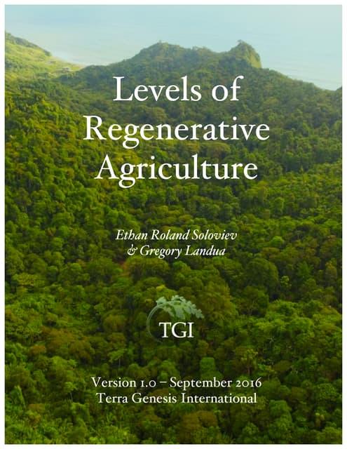 LevelsofRegenerativeAgricultureFINAL