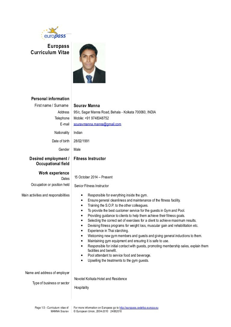 Europass Cv Doc Bules Penantly Co
